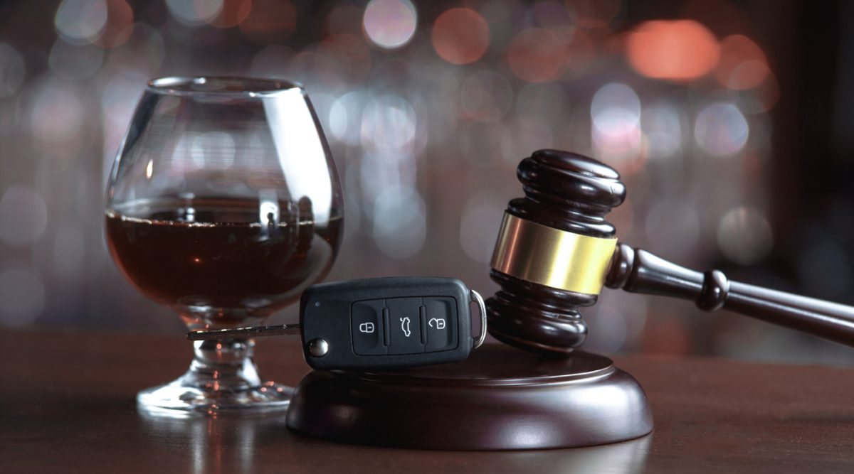Judge's gavel, a sniffer of brandy and a set of car keys